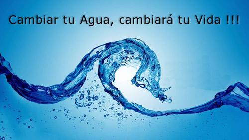 cambiar tu agua